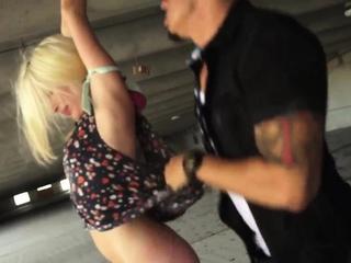 Bondage plug Helpless teenager Piper Perri was on her way