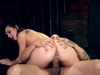 Nude feet slave Best bosss Aidra Fox and Kharlie Stone