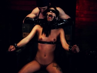 Bondage anal casting She wanders into a bar and finds