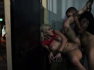 Huge dick brutal fuck and outdoor massage Cristi Ann may