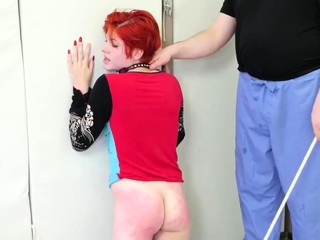 Rough gagging slap first time Cummie, the Painal Cum Cat