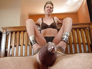 Ruined under heels in chastity 2