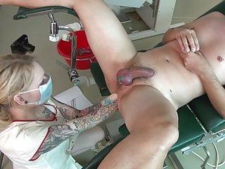 Pretty nurse part two : Double fisting