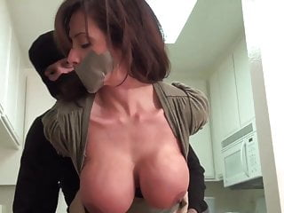 Ariella Ferrera Tape Gagged