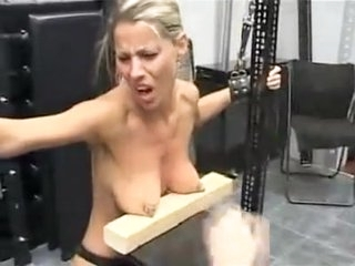 Crazy homemade BDSM, Fetish porn clip